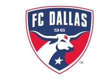 FC λογότυπο του Ντάλλας απεικόνιση αποθεμάτων