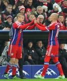 FC Μπάγερν Muenchen β FC Shakhtar Ntone'tsk - UEFA Champions League Στοκ Φωτογραφία