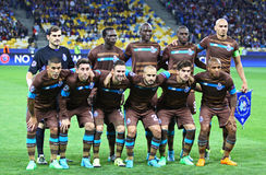FC οι φορείς του Πόρτο θέτουν για μια φωτογραφία ομάδας Στοκ εικόνες με δικαίωμα ελεύθερης χρήσης