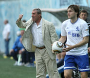FC Alania head coach Vladimir Shevchuk Stock Photos