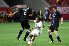 FC Błyskawiczny Bucharest - FC Heerenveen Zdjęcia Stock
