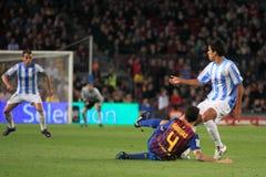 FC Barcelona - решать Cesc Fabregas стоковые изображения