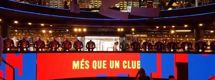 FC Barcelona ходит по магазинам Стоковое Фото