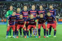 FC Barcelona fotografía de archivo
