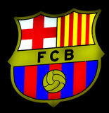 FC Barcelona badge Stock Image