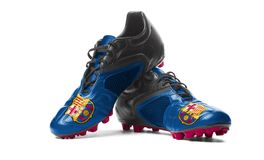 FC Barcelona - bottes du football Image stock