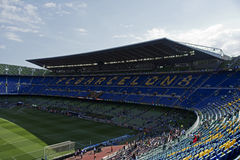 FC Barcelona: Camp Nou Foto de archivo