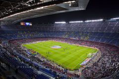 FC Barcelona Camp Nou stadium Royalty Free Stock Photography