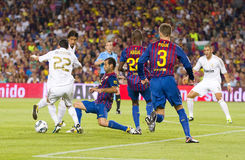FC Barcelona contre le Real Madrid photographie stock
