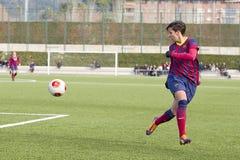 FC Barcelona das mulheres - Marta Corredera Imagem de Stock