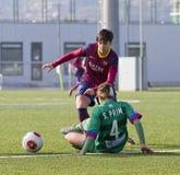 FC Barcelona das mulheres - Marta Corredera Foto de Stock Royalty Free
