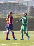 FC Barcelona de las mujeres - Alexia Putellas Fotografía de archivo
