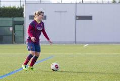 FC Barcelona de las mujeres - Jelena Cankovic Foto de archivo libre de regalías