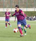 FC Barcelona de las mujeres - Marta Corredera Fotos de archivo libres de regalías