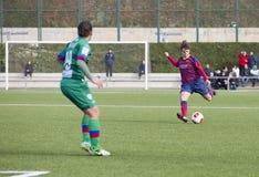 FC Barcelona de las mujeres - Melanie Serrano Fotografía de archivo libre de regalías