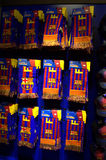 FC Barcelona football club scarves Royalty Free Stock Images