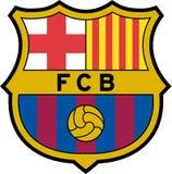 FC Barcelona logo icon royalty free illustration