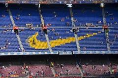 FC Barcelona: Nike Sponsorship Stockfoto