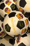 FC Barcelona official balls Stock Image