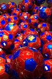 FC Barcelona official footballs Royalty Free Stock Image