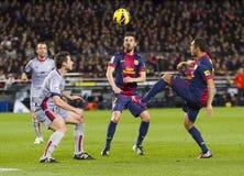 FC Barcelona - Osasuna Stock Image