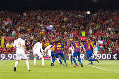 FC Barcelona - Real Madrid Stock Photography