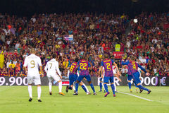 FC Barcelona - Real Madrid Royalty Free Stock Photos