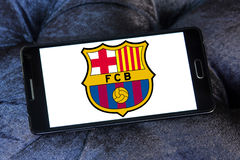 Fc barcelona soccer club logo Stock Images