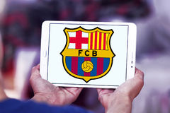 FC Barcelona soccer club logo Royalty Free Stock Images