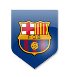 FC Barcelona Team Stockfotos