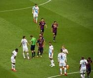 FC Barcelona V Deportivo Stockfotografie