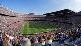 FC Barcelona V Deportivo: Camp Nou Lizenzfreie Stockfotografie
