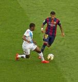 FC Barcelona v Deportivo: Rafinha Imagem de Stock