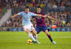 FC Barcelona vs Celta Royalty Free Stock Image