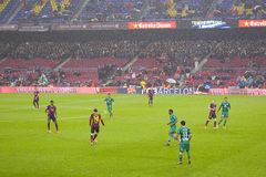FC Barcelona vs Levante Stock Photography