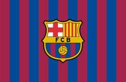 FC Barcelonalogo Arkivbilder