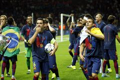 FC Barcelone Stockfotos