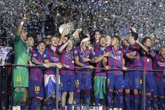 FC Barcelone Royaltyfria Bilder