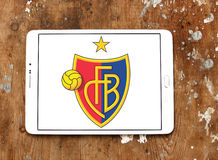 Fc basel soccer club logo Royalty Free Stock Images