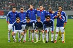 FC Baselline up Arkivbild