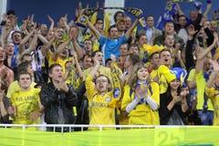 FC BATE Borisov fans Stock Photos