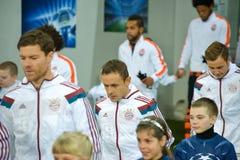 FC Bayern gracze Zdjęcie Royalty Free