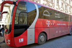 FC Bayern München team bus Royalty Free Stock Photography