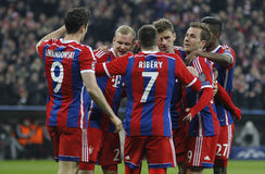 FC Bayern Muenchen v FC Shakhtar Donetsk - UEFA Champions League Stock Photos