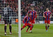 FC Bayern Muenchen v FC Shakhtar Donetsk - UEFA Champions League Royalty Free Stock Images