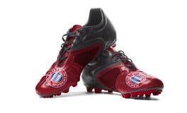 FC Bayern Munich - Fußballstiefel Lizenzfreie Stockbilder