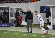 FC Bayern Munich manager Josep Guardiola Stock Photo