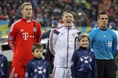 FC Bayern Munich players Stock Photography