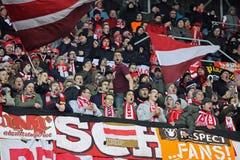 FC Bayern Munich team supporters Stock Photos