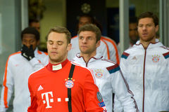 FC Bayern players Stock Photography